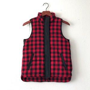 Madewell Fireside Buffalo Vest XS/S